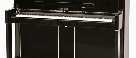 FEURICH Mod. 125 Design - Black Chrome