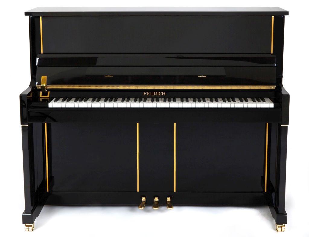 FEURICH Mod. 125 Design - Black Brass