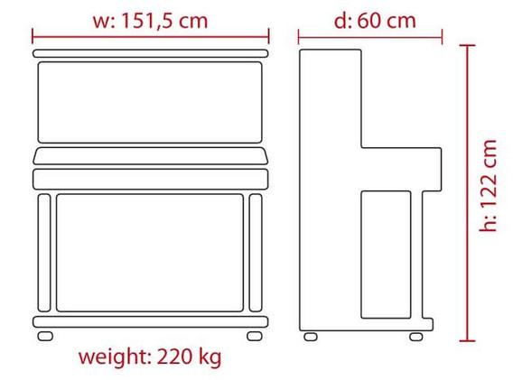 FEURICH Mod. 122 Universal - Dimensions