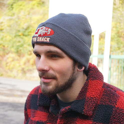 Jeff's VW Shack Logo - Knitted Beanie Hat