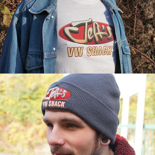 Jeff's VW Shack Bundle Deal - Hat, T Shirt & Stickers
