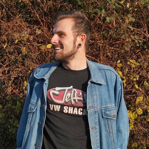 Jeff's VW Shack Logo T Shirt - BLACK