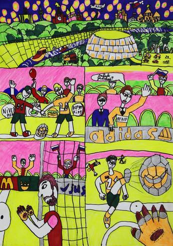 Приглашаем к участию в Международной выставке-конкурсе детского творчества «Солнечный мяч».