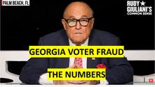 Georgia Voter Fraud - The Numbers