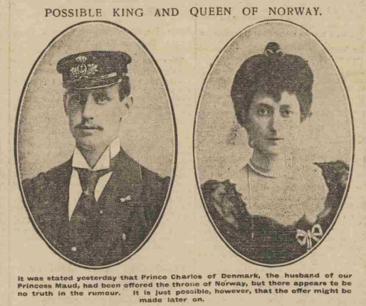 British newspapers picked up on the Prince and Princess  a few weeks later but dismissed it as rumours.