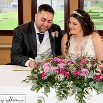 Ellie and Blake South Lodge wedding