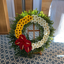 Gerbera and Anthurium tribute