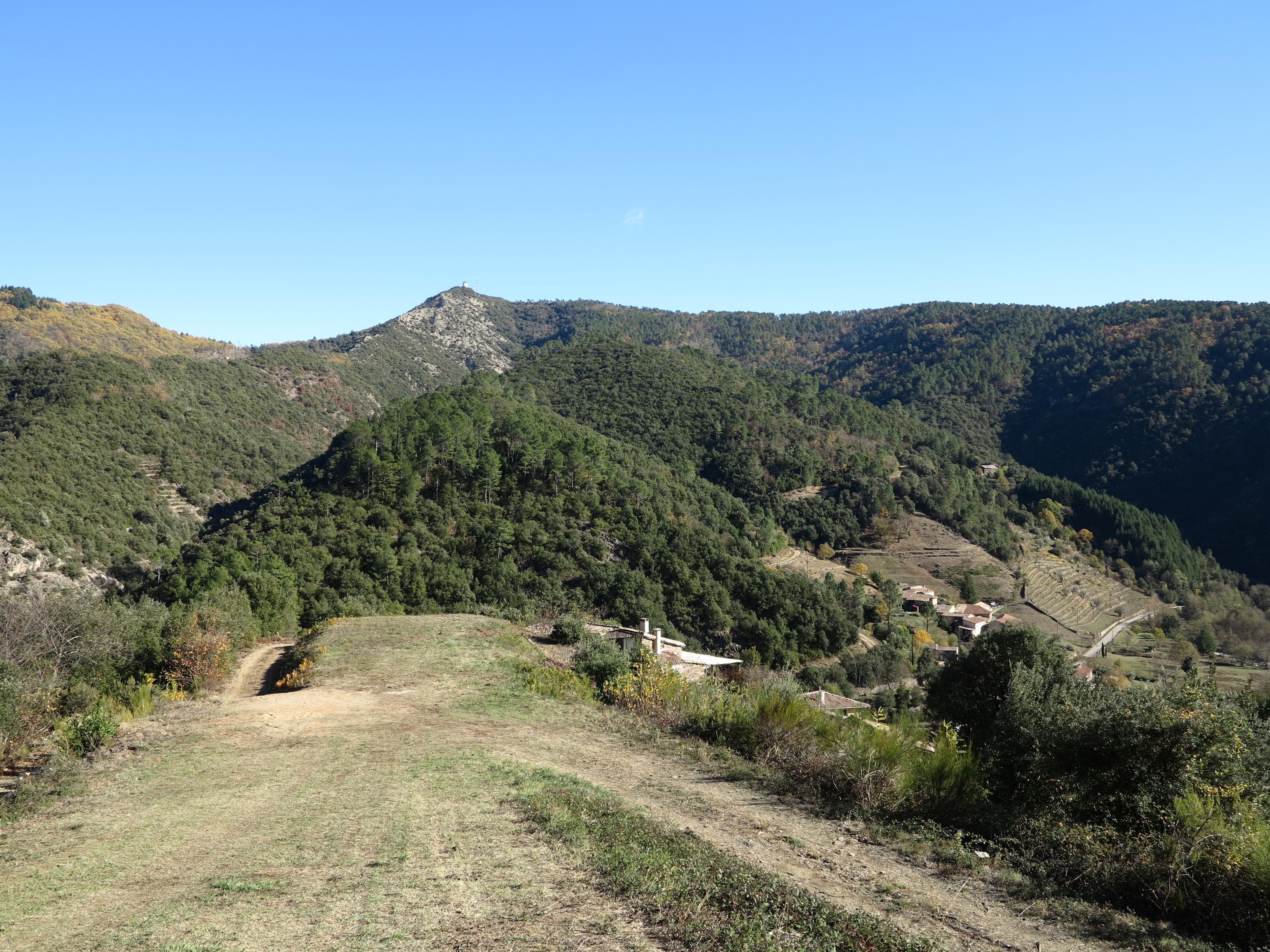 La Tour de Brison, en face de l'Elze
