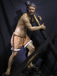 sayon cruz cristo humildad toledo