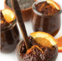 Chocolate orange chia pot