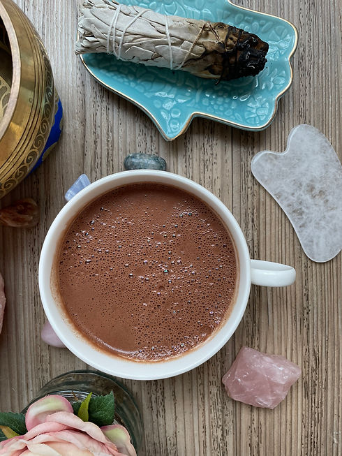 cacao, the nourished body, holistic heal