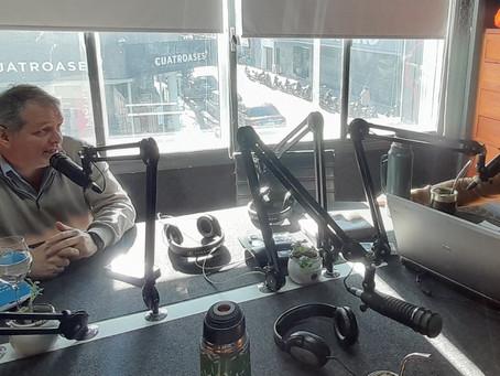 Intendente de Florida defiende su presupuesto quinquenal en el canal y la radio