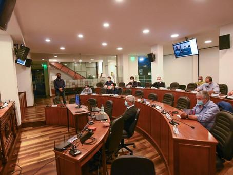 Sesionó la Comisión de Hacienda de la Junta Departamental de Florida