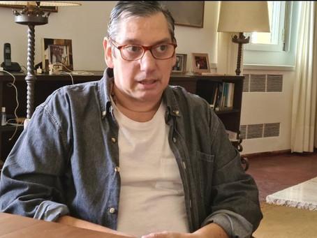 Carlos Enciso habló sobre la relación entre Lacalle - Fernández