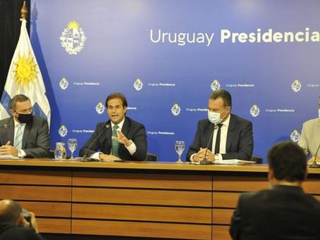 Luis Lacalle Pou y el anuncio de nuevas medidas para frenar el aumento de casos de Covid 19