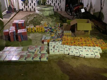 Mercadería incautada fue entregada a una escuela de Nico Pérez
