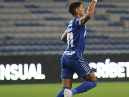 Facundo Barceló volvió a anotar para el Club Sport Emelec