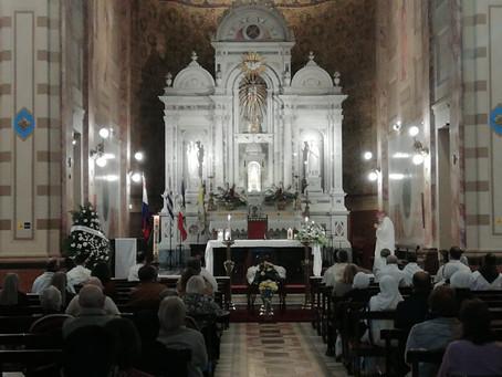 Despidieron los restos de quien fuera por 21 años obispo de Florida, Mon. Raúl Scarrone