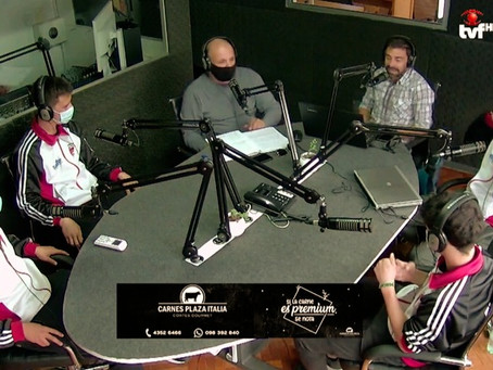 Integrantes de la selección Sub 14 visitaron Tercer Tiempo Radio