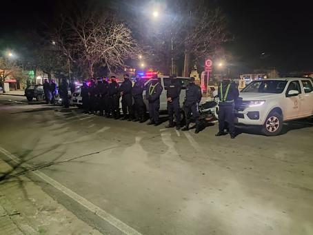 58 vehículos documentados, 2 multas aplicadas y 16 espirometrías fue el resultado del operativo