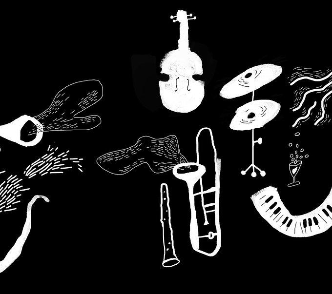 Instruments de musique illustrés
