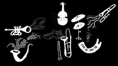 Instrumentos Musicales ilustrados