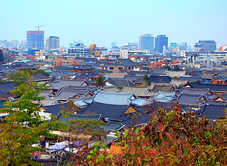 Jeonju Hanok Village during 9Days Korea Wide Grand Tour
