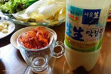 Kimchi and Makeolri