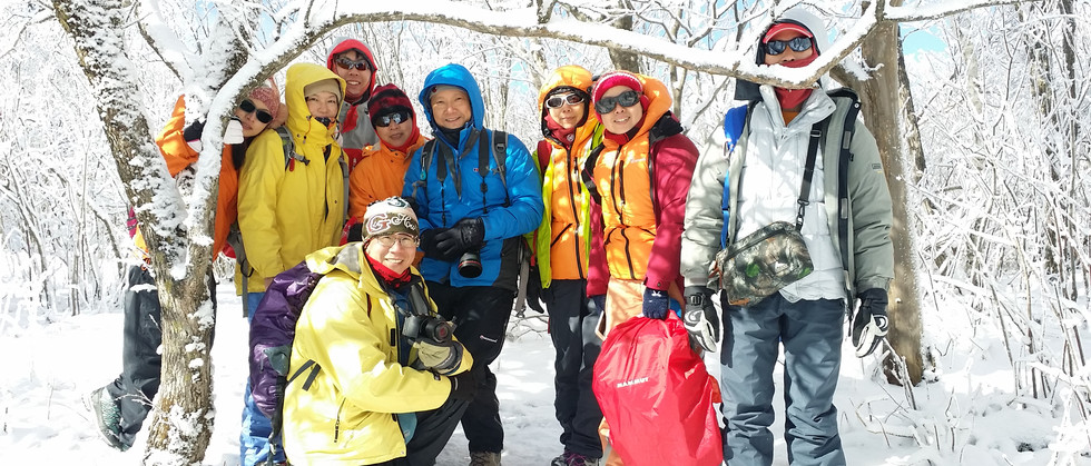 Snow Trekking by Insights Korea