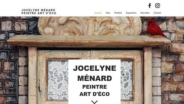 Jocelne Ménard Peintre
