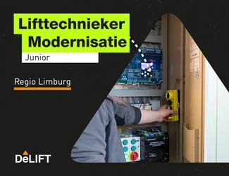 Vacature: (junior) lifttechnieker modernisatie regio Limburg