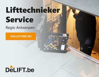 Vacature: Lifttechnieker service Regio Antwerpen
