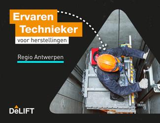 Vacature: Lifttechnieker Herstellingen Regio Antwerpen
