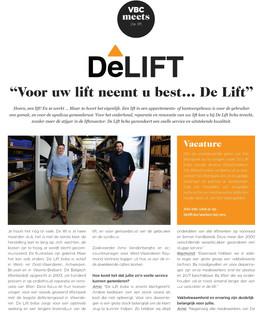 """Hoe maakt """"De Lift"""" het verschil in de sector? Lees het in het VBC Magazine ☕👍💪👨🔧"""