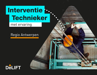 Vacature: Interventietechnieker Regio Antwerpen
