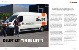De Lift in de media: Wurth magazine