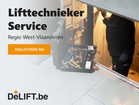 Vacature: Lifttechnieker service Regio West-Vlaanderen