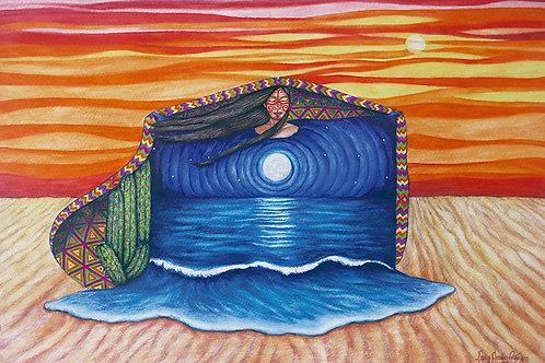Mujer naturaleza Wayúu