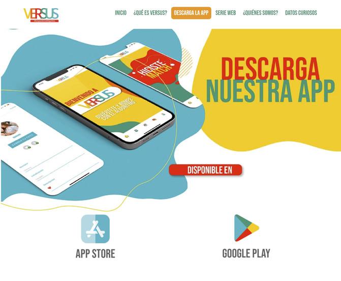 Versus- Red social-Descarga la app.jpg