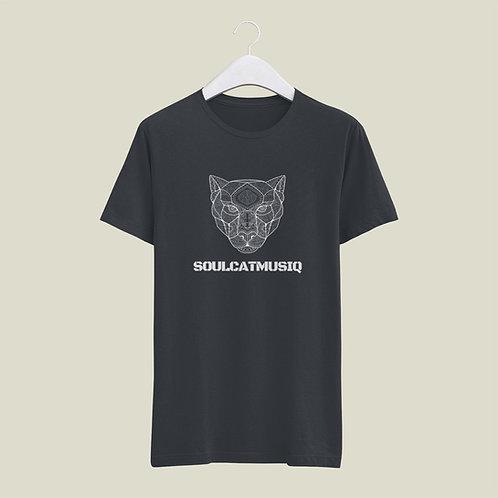 Soulcatmusiq Label Shirt Charcoal Grey, (X-Large)