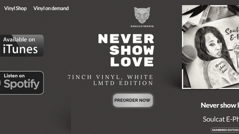 """How to get """"Never show love"""" on vinyl:"""