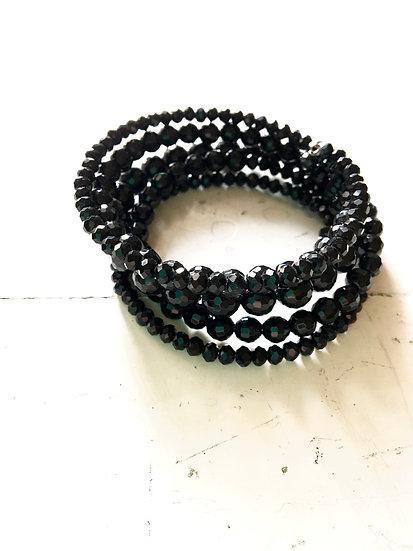 bracciale spirale | nero