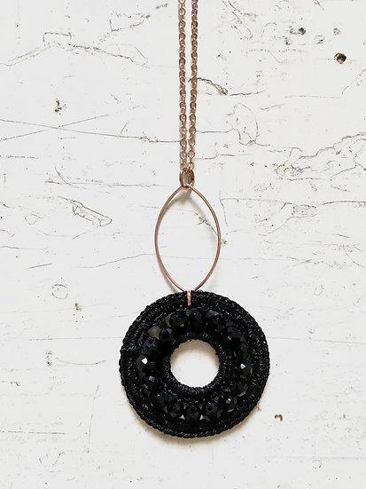 girocollo cerchio   nero