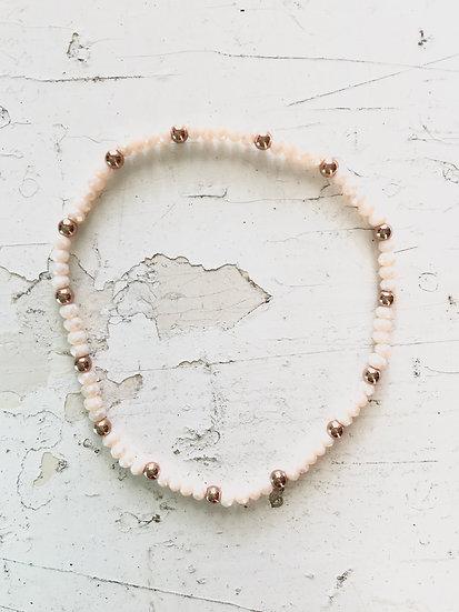 braccialetto elastico   rosa pallido