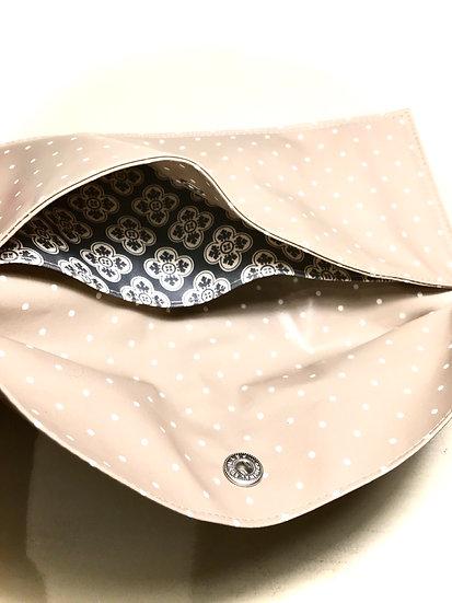 pochette mascherine | separatore geometrico fiore