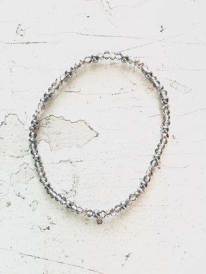 braccialetto elastico | trasparente
