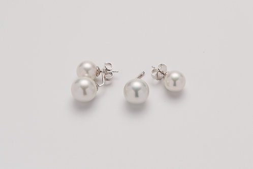 "Earrings ""DOUBLE BALLS"""