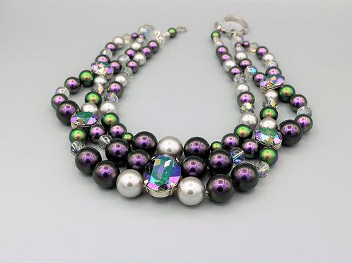 Choker-Necklace «PARADISE»