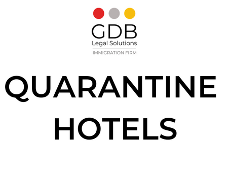 Quarantine Hotels - Arriving in the UK