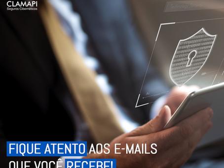 Fique atento aos e-mails que você recebe! Os ataques de hackers estão cada vez mais frequentes.